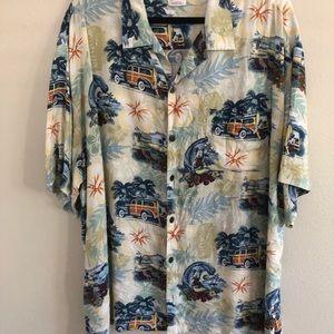 Disney Hawaiian Shirt with Mickey Mouse XXL
